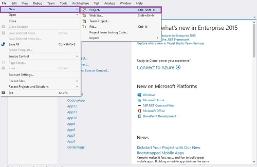 how to make tabs in visual studio 2015